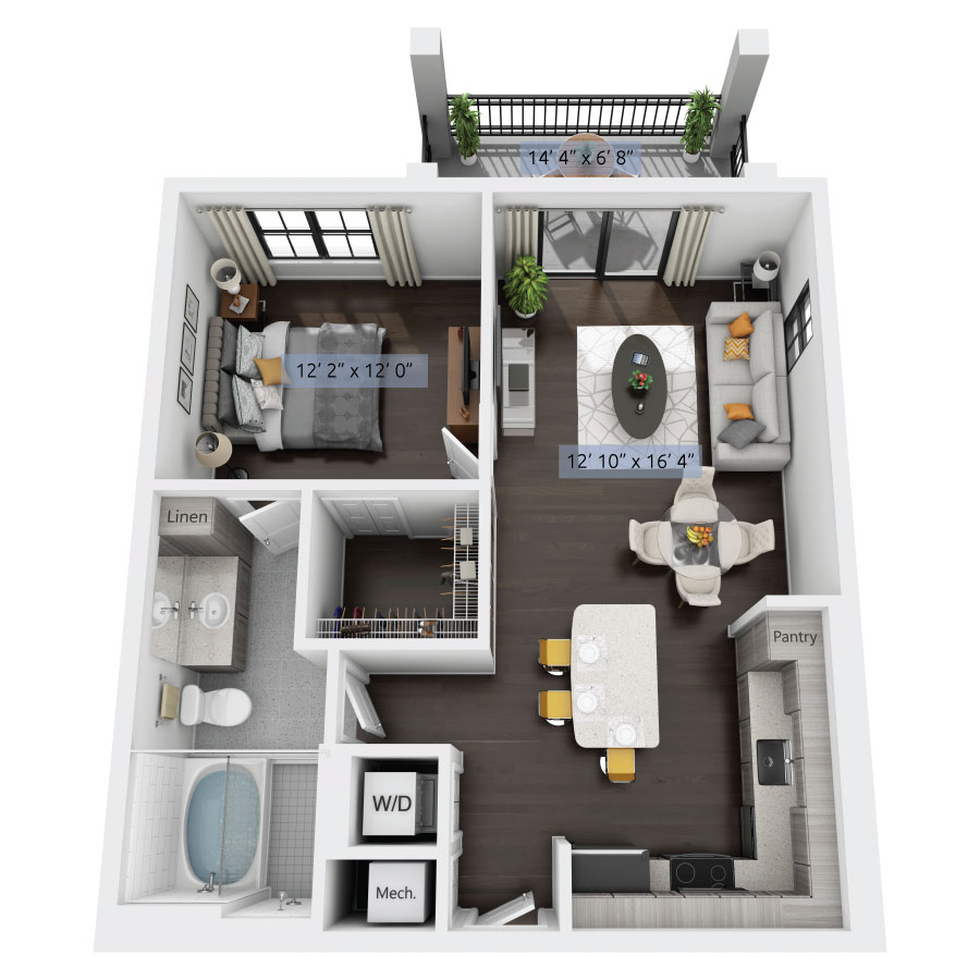 3 Bed Apartments: Luxury One, Two & Three Bedroom Apartments