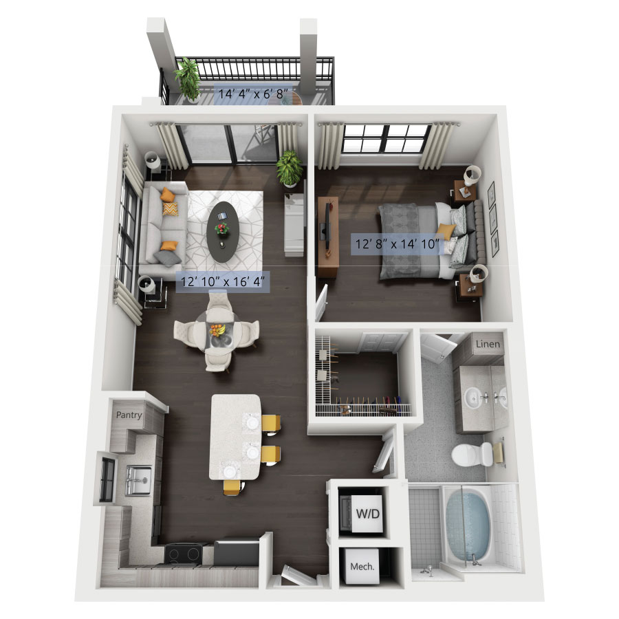 Luxury One, Two & Three Bedroom Apartments