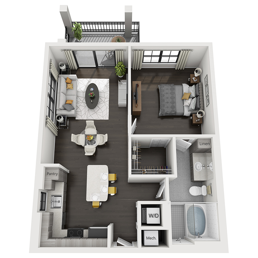 Where Can I Find An Apartment: Luxury One, Two & Three Bedroom Apartments