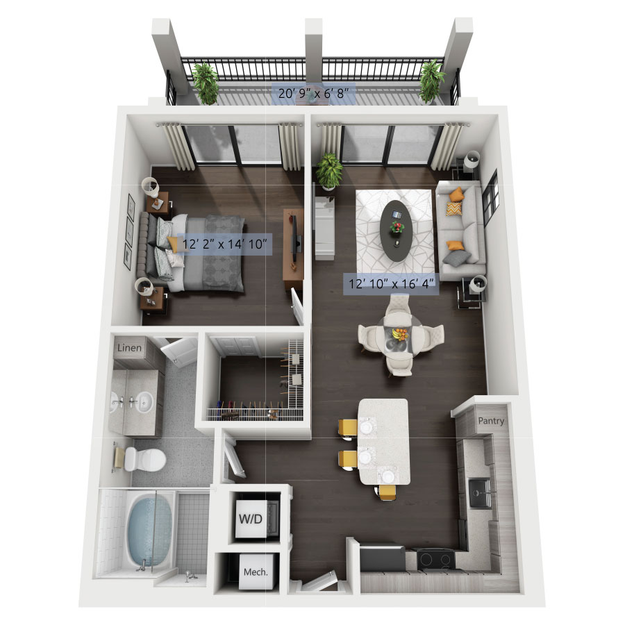 1 bedroom apartment. 1 Bedroom Bath Starting At  686 850 Boca Luxury One Two Three Apartments Townhomes
